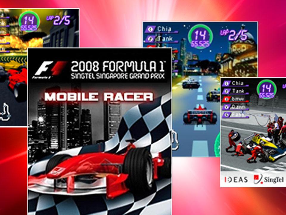 F1 Mobile Racer