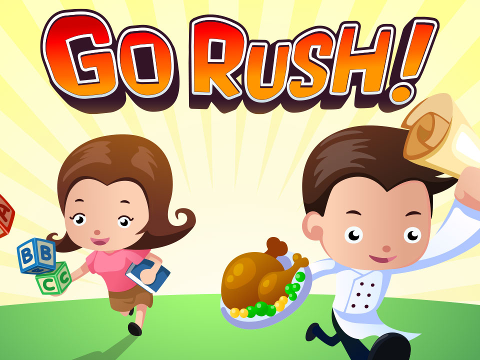 WDA Go Rush! Mobile Game
